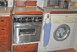 Stove & washer
